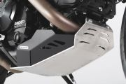 Engine guard Black/Silver. Ducati Hyperstrada / Hypermotard. MSS.22.474.10000/B